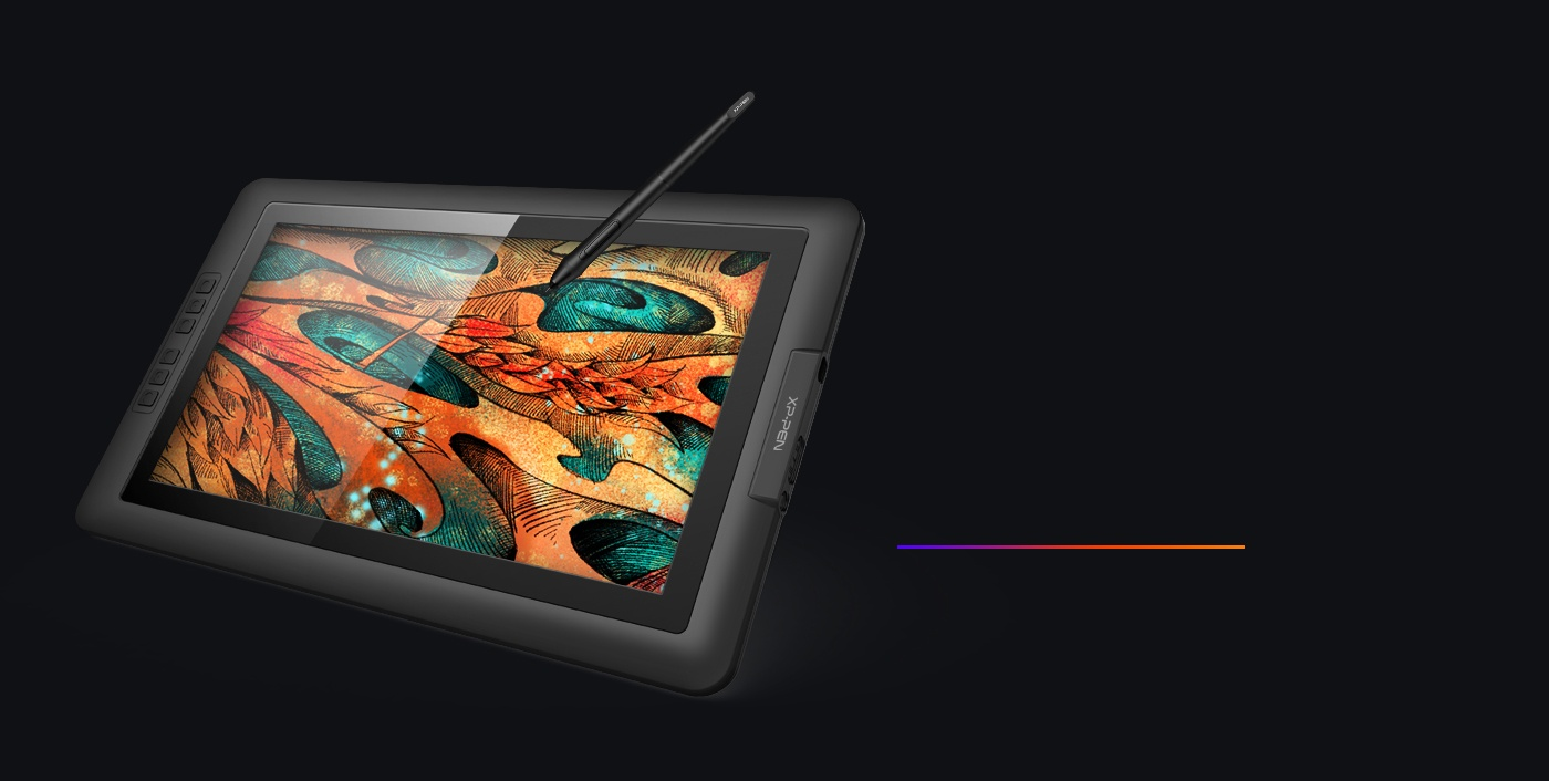 XP-Pen Artist 15.6 tablette Dessin avec Surface solide en verre